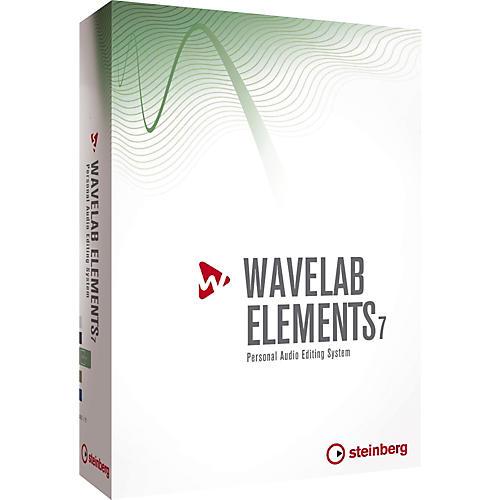 Steinberg Wavelab Elements 7 Educational