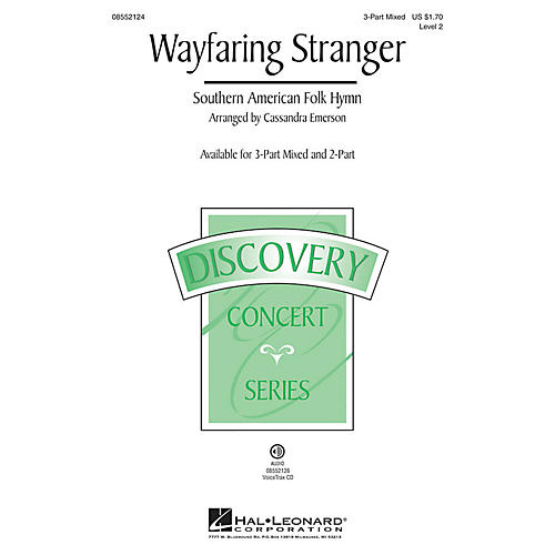 Hal Leonard Wayfaring Stranger (Discovery Level 2) VoiceTrax CD Arranged by Cassandra Emerson