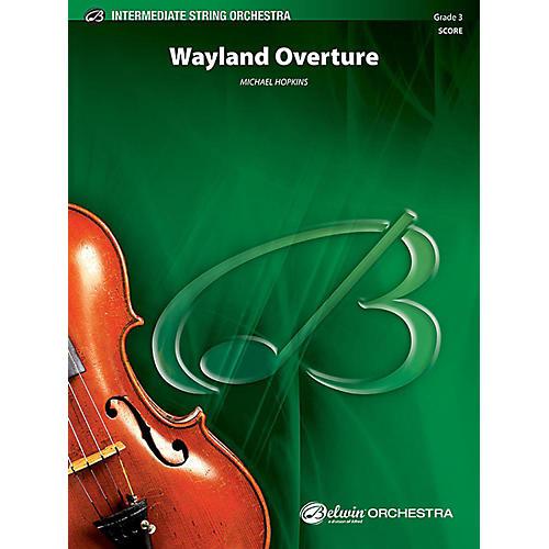 Alfred Wayland Overture String Orchestra Grade 3 Set