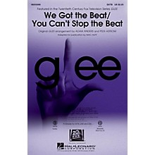 Hal Leonard We Got the Beat/You Can't Stop the Beat SAB by Glee Cast Arranged by Adam Anders