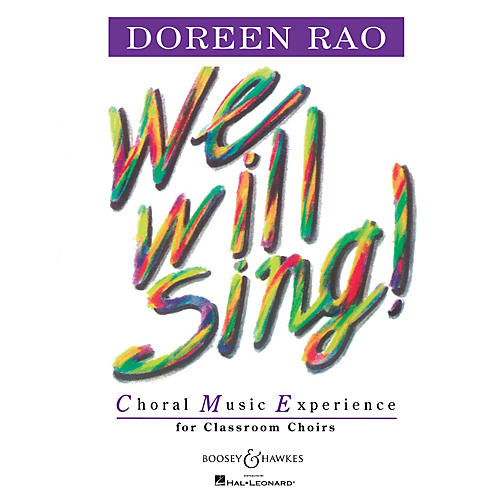 Boosey and Hawkes We Will Sing! (Performance Cassette) Composed by Doreen Rao