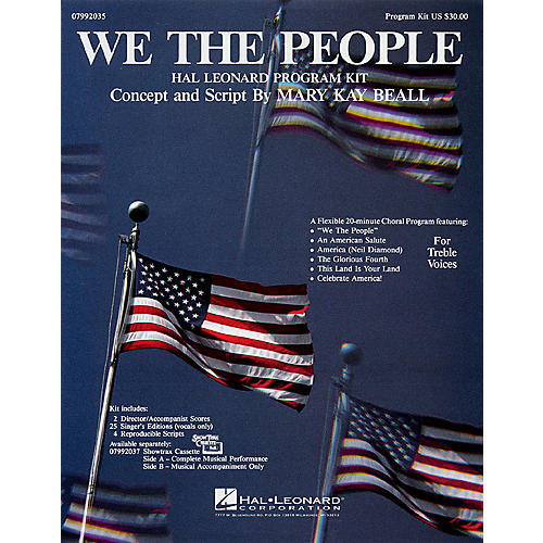 Hal Leonard We, the People (Program Kit) ShowTrax CD Composed by Mary Kay Beall