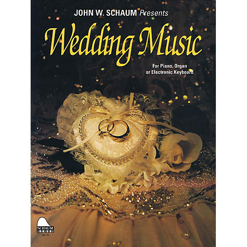 SCHAUM Wedding Music Educational Piano Series Softcover
