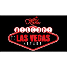 Guitar Center Welcome To Las Vegas Graphic Magnet