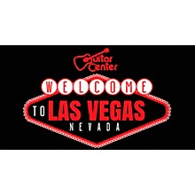 Guitar Center Welcome To Las Vegas Graphic Sticker