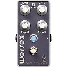 Bogner Wessex Overdrive Guitar Effects Pedal Level 1