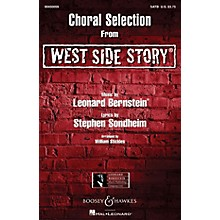 Leonard Bernstein Music West Side Story - Choral Selections SATB Arranged by William Stickles