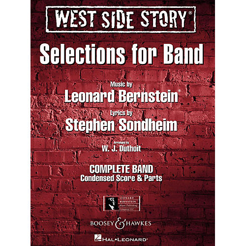 Hal Leonard West Side Story - Selections for Band Concert Band Level 4-5 Arranged by W.J. Duthoit