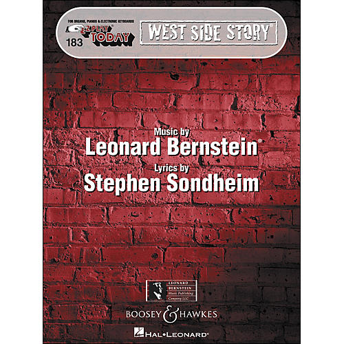 Hal Leonard West Side Story E-Z Play 183