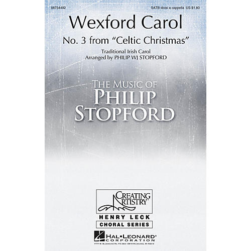 Hal Leonard Wexford Carol SATB DV A Cappella arranged by Philip Stopford