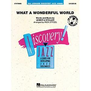 Hal Leonard What a Wonderful World Jazz Band Level 1.5 Arranged by Rick Sti... by Hal Leonard