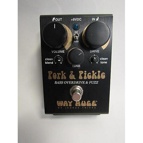 used way huge electronics whe214 pork pickle effect pedal guitar center. Black Bedroom Furniture Sets. Home Design Ideas