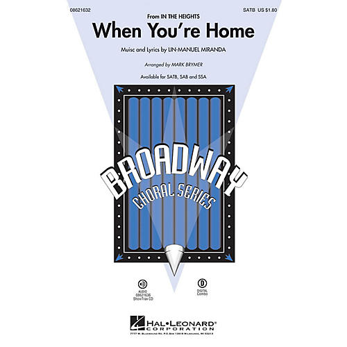 Hal Leonard When You're Home ShowTrax CD Arranged by Mark Brymer