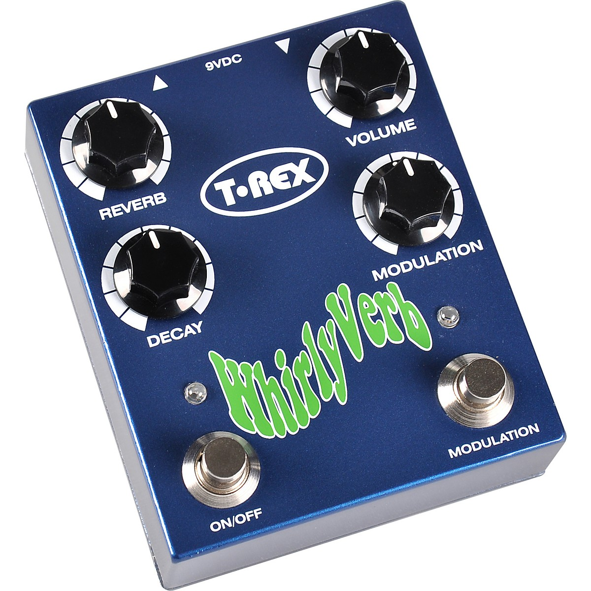 T-Rex Engineering Whirly Verb Reverb Guitar Effects Pedal