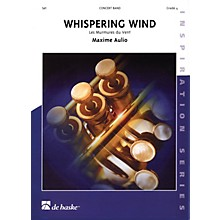 De Haske Music Whispering Wind Full Score Concert Band Level 4 Composed by Maxime Aulio