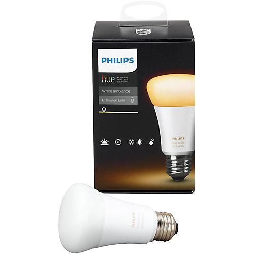 Philips Hue White Ambiance A19 Single Bulb