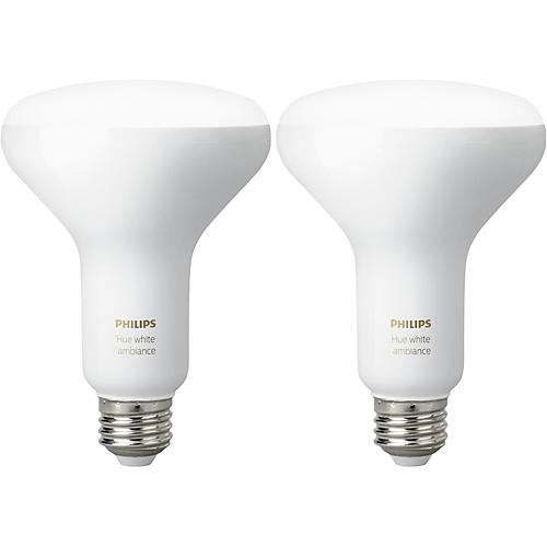 Philips Hue White Ambiance BR30 2PK