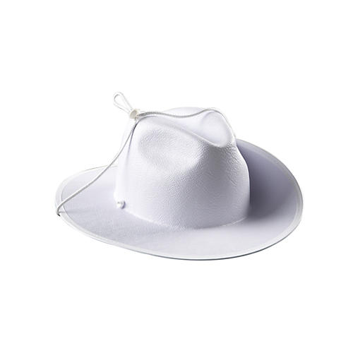 Director's Showcase White Aussie Hat without Band