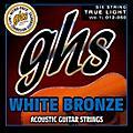 GHS White Bronze True Light Acoustic-Electric Guitar Strings thumbnail