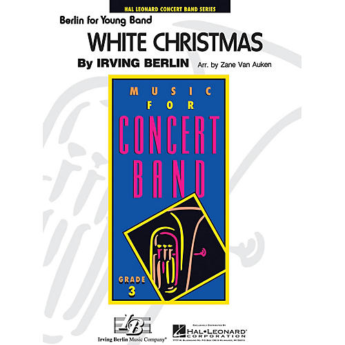 Hal Leonard White Christmas - Young Concert Band Level 3 arranged by Zane Van Auken