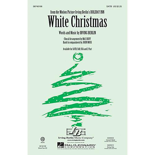 Hal Leonard White Christmas SATB arranged by Mac Huff