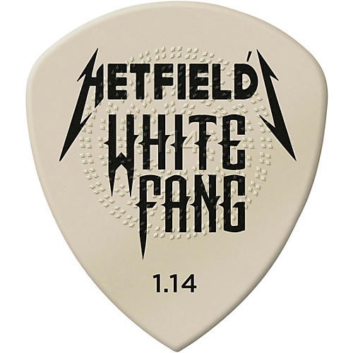 Dunlop White Fang James Hetfield Signature Picks
