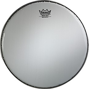 remo white max crimped smooth white marching snare drum head 13 in guitar center. Black Bedroom Furniture Sets. Home Design Ideas
