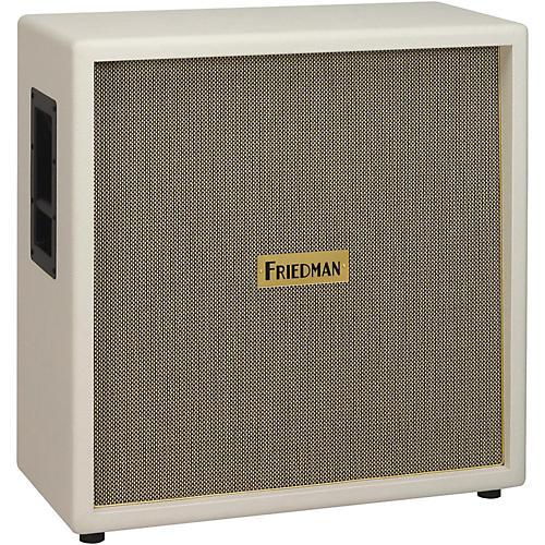 Friedman White Tolex Vintage 4x12 Guitar Speaker Cab White Tolex