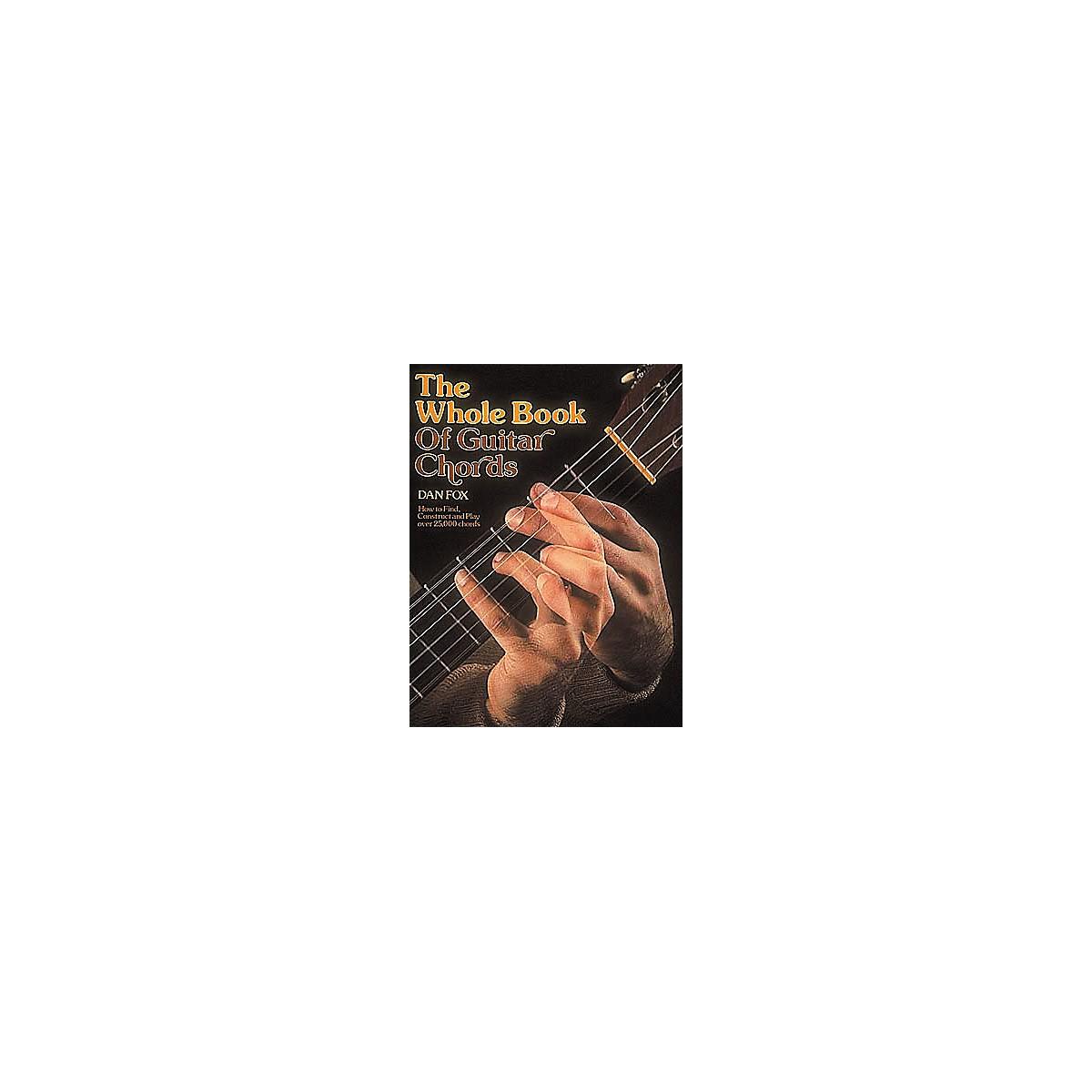 G. Schirmer Whole Book of Guitar Chords Book