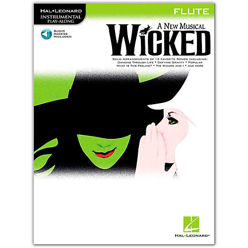 Hal Leonard Wicked for Flute (Book/Online Audio)