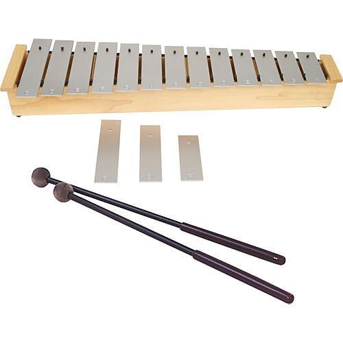 Lyons Wide Bar Diatonic Alto Glockenspiel with Mallets