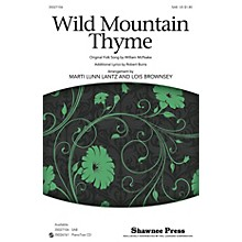 Shawnee Press Wild Mountain Thyme SAB arranged by Marti Lunn Lantz