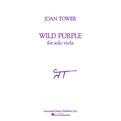 Associated Wild Purple (for Solo Viola) String Solo Series