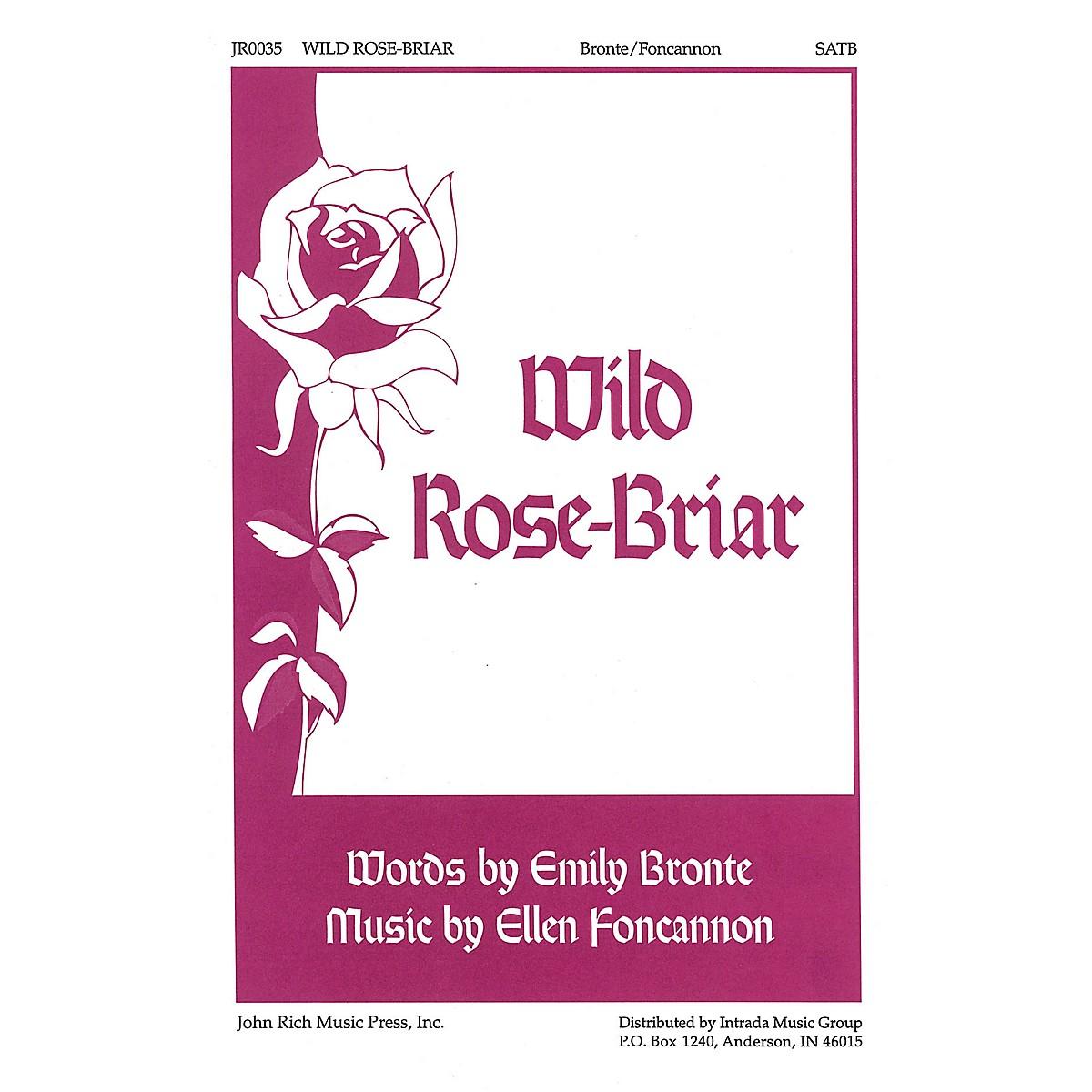 Pavane Wild Rose-Briar SATB composed by Ellen Foncannon, Emily Bronte