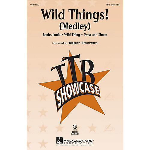 Hal Leonard Wild Things! (Medley) TBB arranged by Roger Emerson
