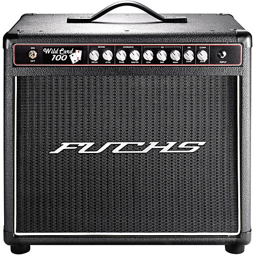 Fuchs Wildcard 100W Tube Guitar Combo Mini-Amp and 4-Button Artist Footswitch Kit