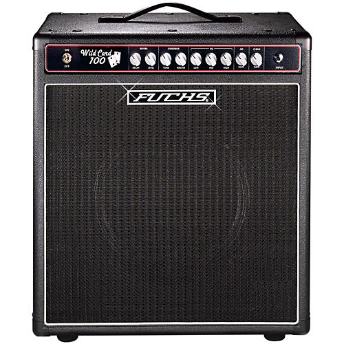 Fuchs Wildcard 1x12 100W Tube Guitar Combo Amp and 4-Button Artist Footswitch Kit