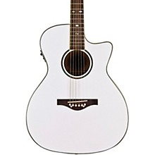 Wildwood Artist Acoustic-Electric Guitar Pearl White