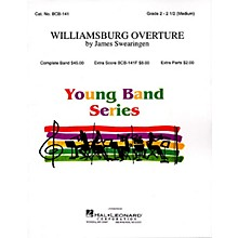 Band Music Press Williamsburg Overture Concert Band Level 2-3 Composed by James Swearingen