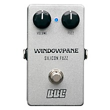 BBE Windowpane Silicon Fuzz Guitar Effects Pedal Level 1