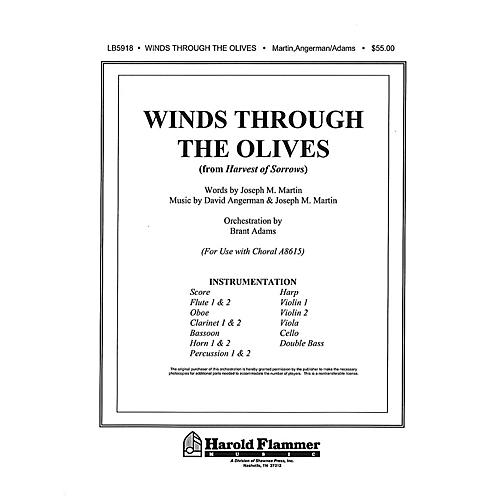 Shawnee Press Winds Through the Olives (from Harvest of Sorrows) Score & Parts composed by Joseph M. Martin