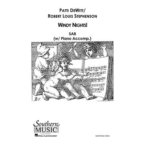 Southern Windy Nights SAB Composed by Patti DeWitt