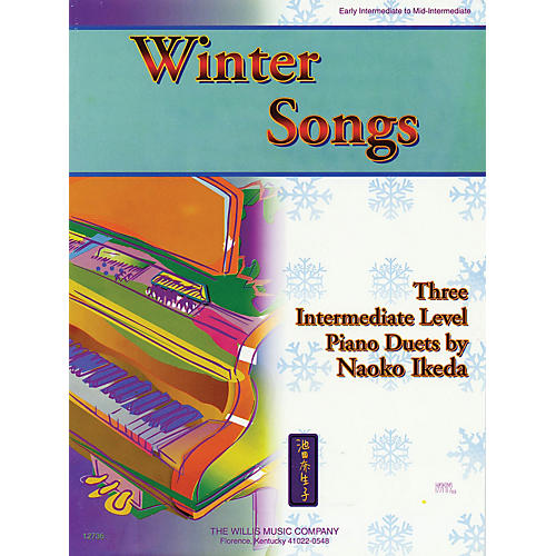 Willis Music Winter Songs (1 Piano, 4 Hands/Early Inter Level) Willis Series by Naoko Ikeda