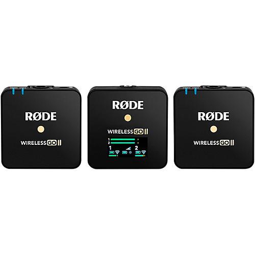 Rode Wireless Go II Dual-Channel Wireless Microphone System