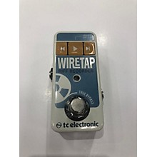TC Helicon Wiretap Riff Recorder Pedal