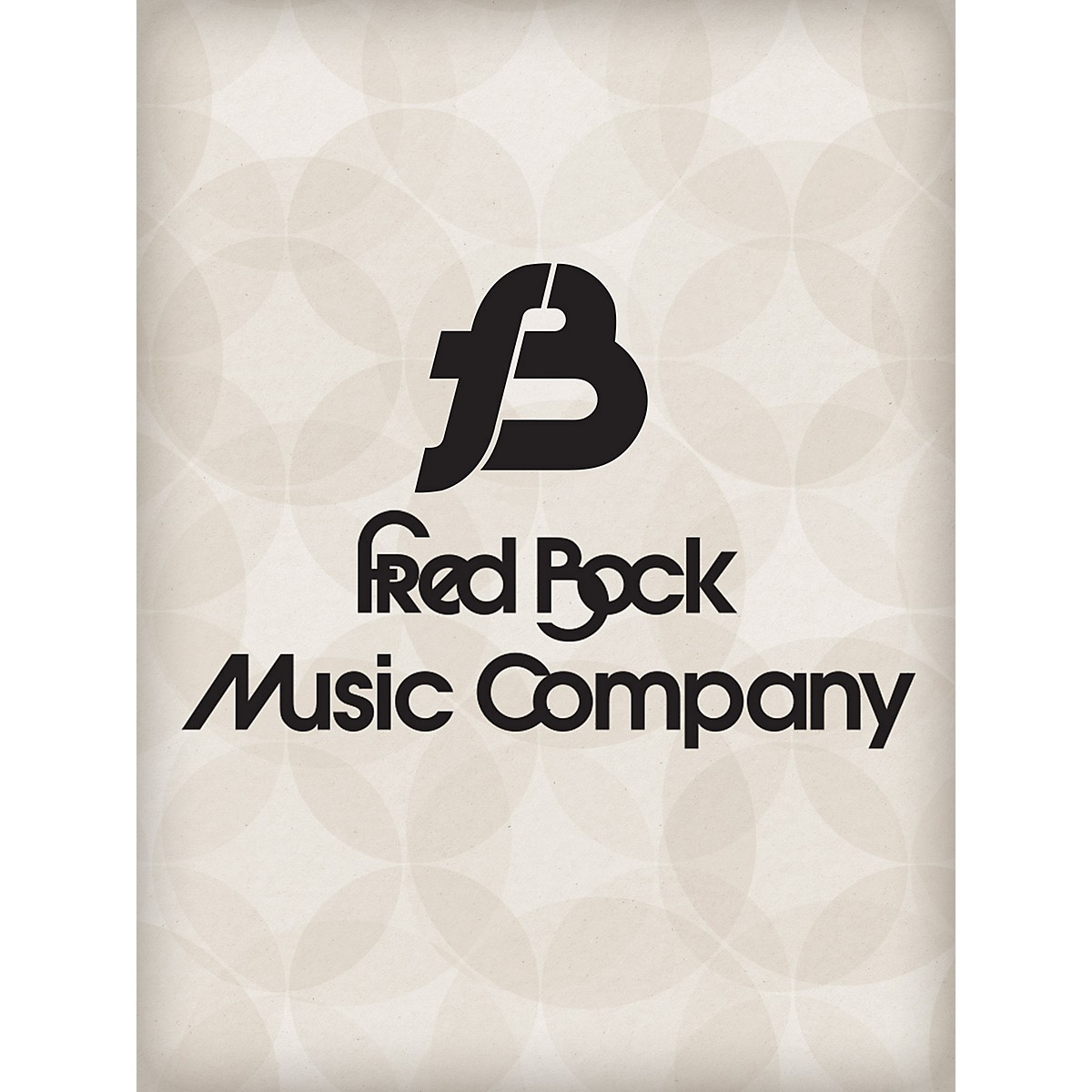 Fred Bock Music With the Waving of Palms SATB Composed by Fred Bock