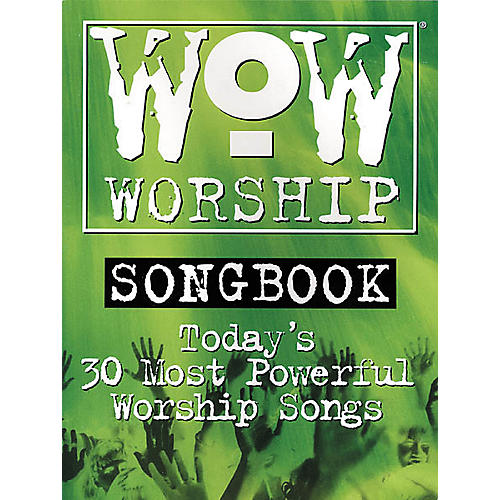 Integrity Music WoW Worship Green Songbook