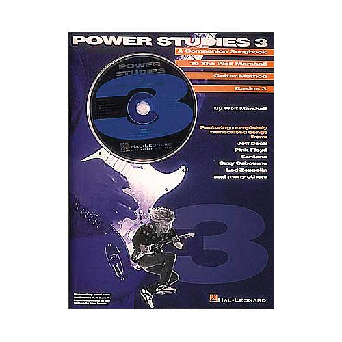 Hal Leonard Wolf Marshall Power Studies 3 (Book/CD)