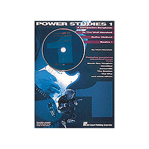 Hal Leonard Wolf Marshall Power Studies One Book/CD