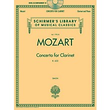 G. Schirmer Wolfgang Amadeus Mozart - Concerto for Clarinet, K. 622 Woodwind Series BK/CD